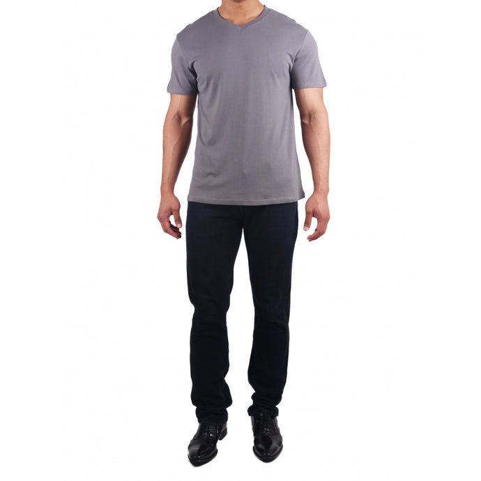 Men's V-Neck Grey
