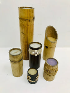 Bamboo candles FREE