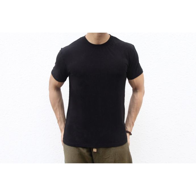 Men's Round Neck Black