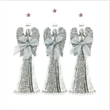 Load image into Gallery viewer, Silver Christmas Card Pack SC01