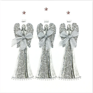 Silver Christmas Card Pack SC02
