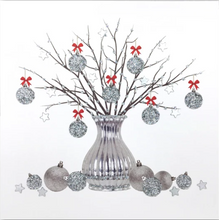Load image into Gallery viewer, Silver Christmas Card Pack SC03