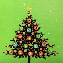 Load image into Gallery viewer, Colorful Christmas Card Pack CC03