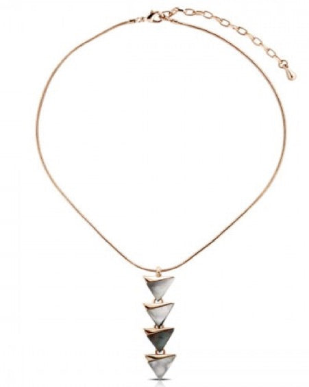 Sumba Shell Metal Necklace