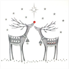 Load image into Gallery viewer, Red/Silver Christmas Card Pack RSC01