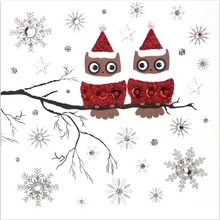 Load image into Gallery viewer, Red/Silver Christmas Card Pack RSC02