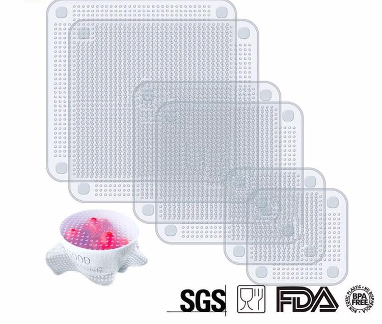 Silicone Square Cover Set