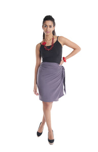 Wrap Skirt Grey