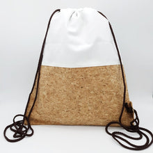 Load image into Gallery viewer, Cork Drawstring Bag