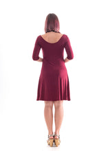 Load image into Gallery viewer, 3/4 Sleeve Dress Red