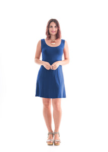 Sleeveless Dress Blue