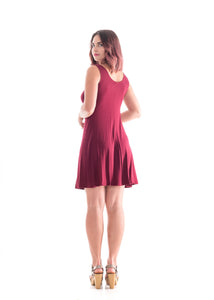 Sleeveless Dress Red