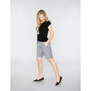 Tencel Bermudas Medium Grey