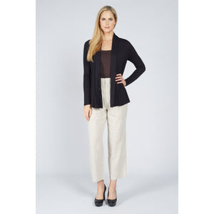 Wrap Cardigan Black