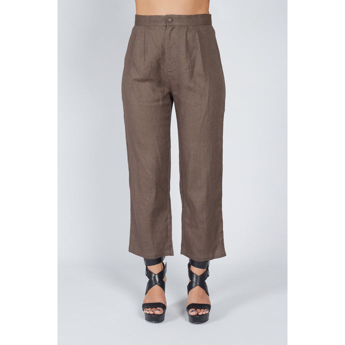 Everyday Pants Chocolate Brown