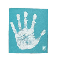 Load image into Gallery viewer, Kliin Bio Kitchen Towel Small - Hand Print