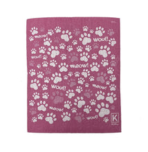 Load image into Gallery viewer, Kliin Bio Kitchen Towel Small - Paw Print