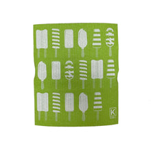 Load image into Gallery viewer, Kliin Bio Kitchen Towel Small - Popsicle Print