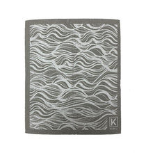 Load image into Gallery viewer, Kliin Bio Kitchen Towel Small - Wave Print