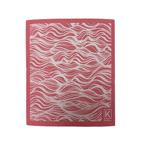 Kliin Bio Kitchen Towel Small - Wave Print