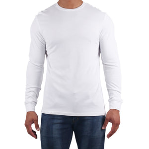 Men's Long Sleeve White