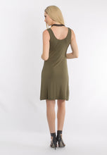 Load image into Gallery viewer, Reversible Tank Dress Olive