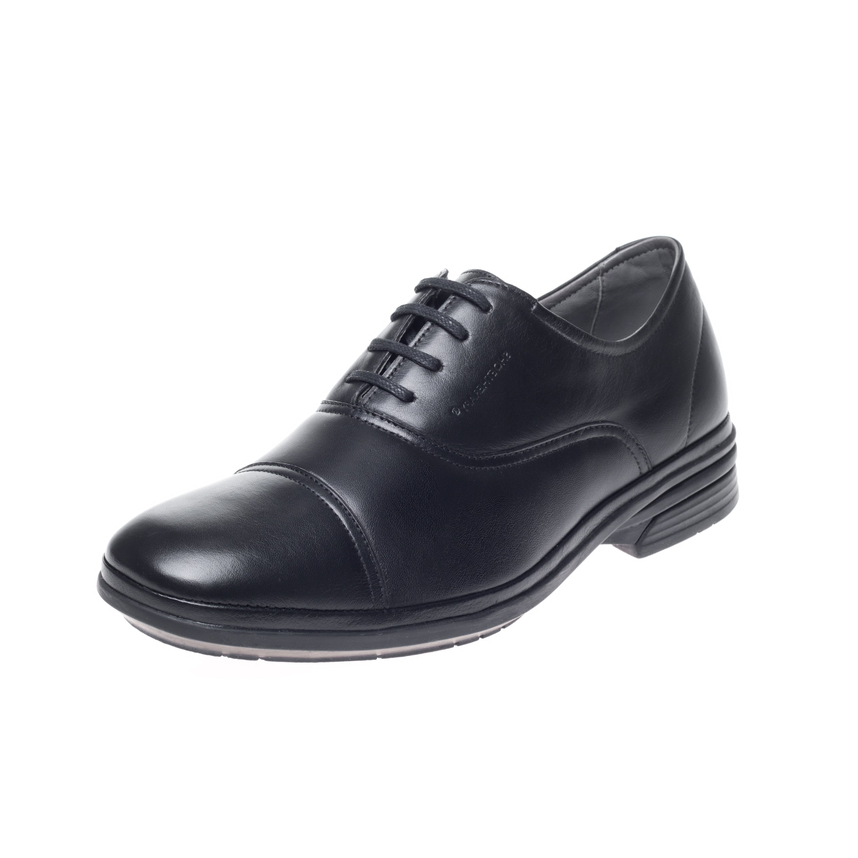 Shoetherapy Bubble Therapy 30717 Mens Black Leather Lace up shoe