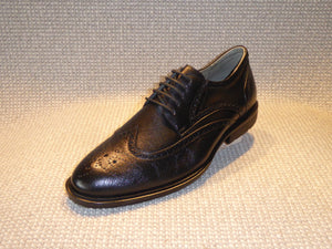 E. Shoetherapy Cerato 42905 Mens Leather Laced Wing Brogue Shoe