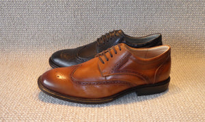 Shoetherapy Cerato 42905 Mens Leather Laced Wing Brogue Shoe