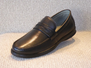 Shoetherapy Istanbul 45002 Mens Leather Apron Front Slip on Shoe