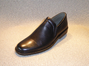 Shoetherapy Excellence 5012 Mens Leather Plain front Casual Slip on Shoe