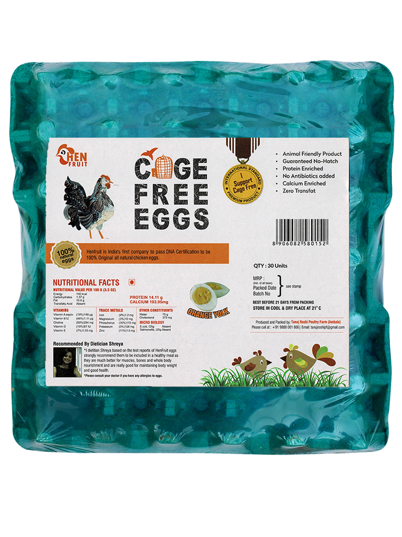 12 Pack of 30 Pack Cage Free Eggs