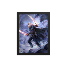 Load image into Gallery viewer, 'Kealin the Half-Elf of Urlas' Cover art for Half-Bloods Rising.