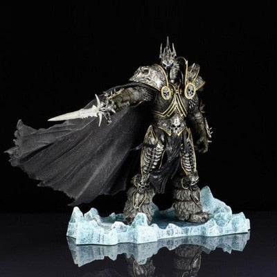 World of Warcraft Arthas Menethil The Lich King Action Figure 21cm Height