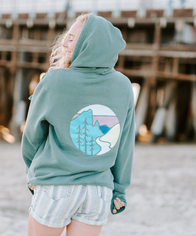 Cascade Hoodie From Wyoming