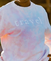 Hudson Tie Dye Sweatshirt From New York | Pastel