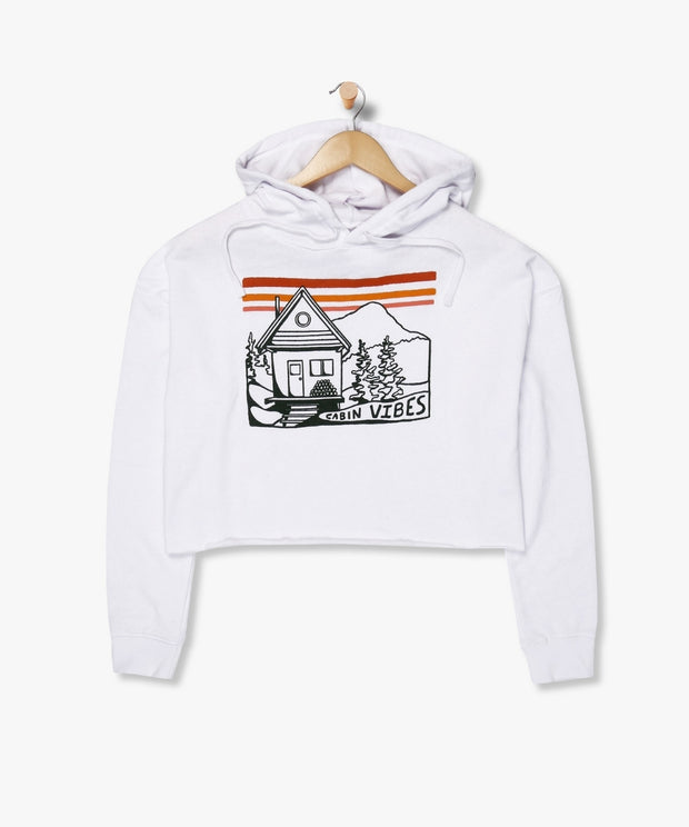 Hayden Cropped Hoodie From Wyoming