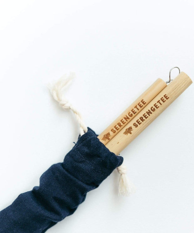 Serengetee - Wear The World Bamboo Straw 2-Pack From Vietnam
