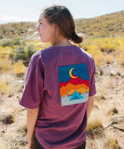 Serengetee - Wear The World Berry Goodnight Moon Tee