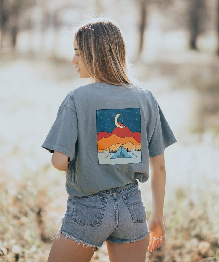 Serengetee - Wear The World Blue Lagoon Goodnight Moon Tee