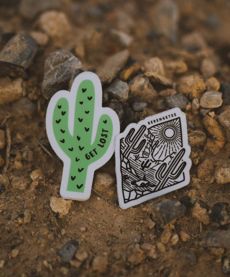 Serengetee - Wear The World Cactus Sticker