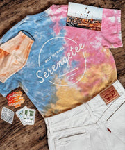 Serengetee - Wear The World Catalina Spotty Dye Tee from Louisiana