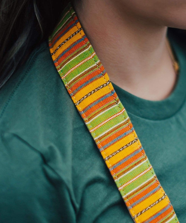 Serengetee - Wear The World Champey Camera Strap from Guatemala