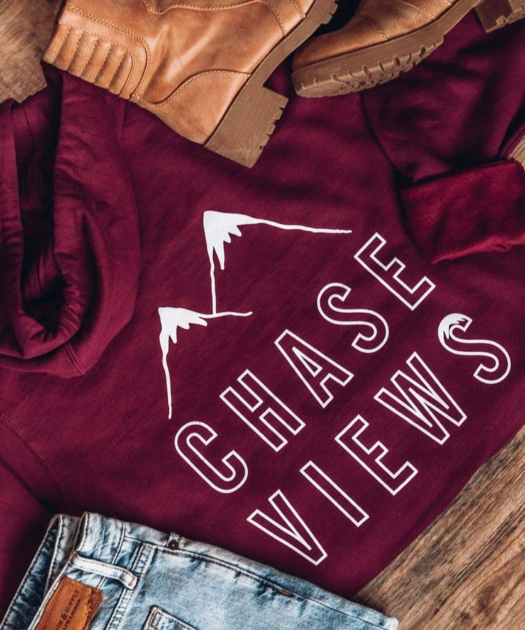 Serengetee - Wear The World Chase Views Hoodie From New York