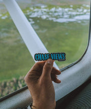 Serengetee - Wear The World Chase Views Sticker