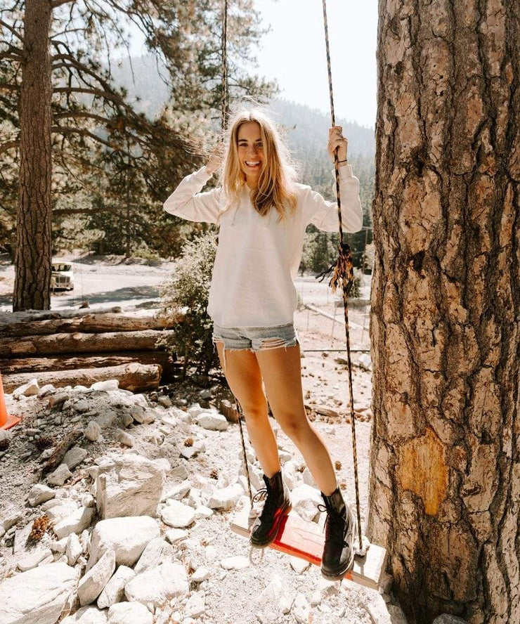 Serengetee - Wear The World Coconut CabinCozy Hoodie from California