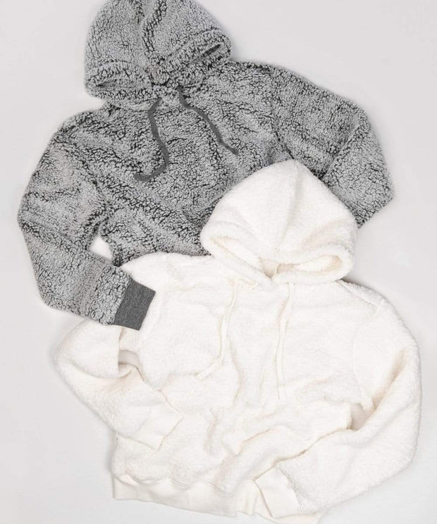 Serengetee - Wear The World Coconut CabinCozy Sherpa Hoodie
