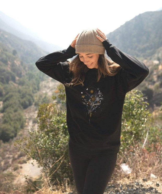 Serengetee - Wear The World Cosmic Bouquet Sweatshirt from Australia