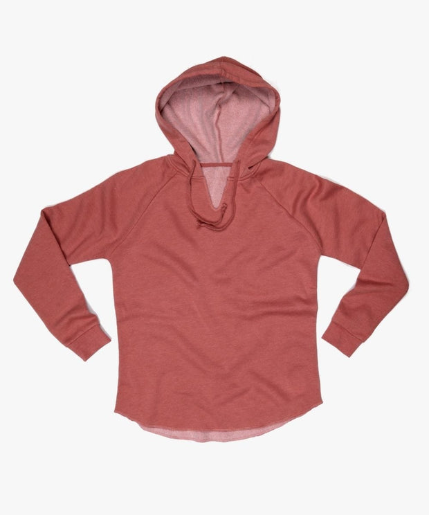 Serengetee - Wear The World Dusty Rose CabinCozy Hoodie from California