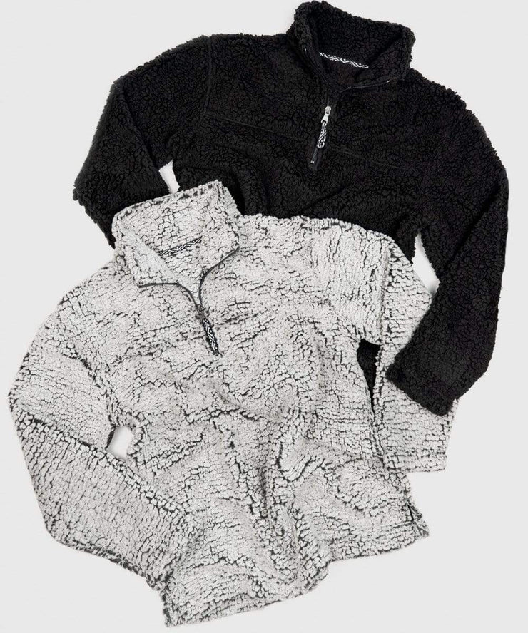 Serengetee - Wear The World Frosty CabinCozy Quarter Zip Sherpa